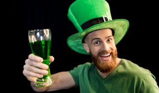 Am St. Patrick's Day erstrahlt in Irland alles grün. (Foto)