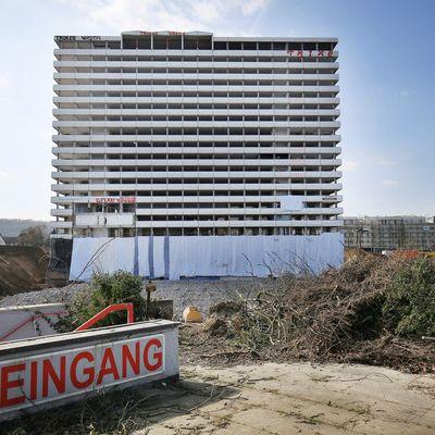 250 Kilo Sprengstoff! Hochhaus in Bonn in Luft gejagt (Foto)