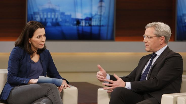 Anne Will diskutierte am Sonntagabend (19.03.2017) unter anderem mit CDU-Politiker Norbert Röttgen. (Foto)