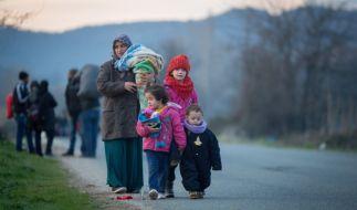 120 000 Flüchtlingskinder sollen derzeit in Deutschland leben. (Foto)