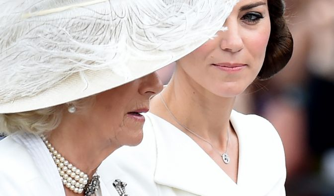 Kate Middleton und Camilla Parker-Bowles
