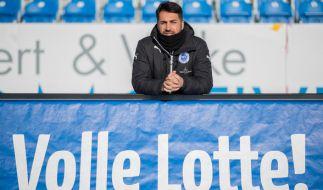 Ismail Atalan, Coach von den Sportfreunden Lotte, muss am 22.03.2017 mit seinem Team gegen die SG Sonnenhof Großaspach ran. (Foto)