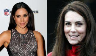 Von Zickenkrieg keine Spur: Meghan Markle und Kate Middleton sollen sich blendend verstehen. (Foto)