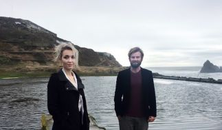 Thordis Elva und Tom Stranger. (Foto)