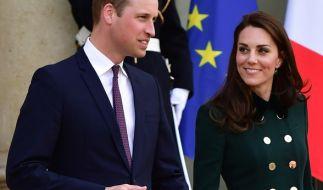 Täuscht die Verliebtheit von Kate und William in Frankreich? (Foto)