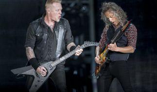 """Metallica gehen 2017/18 auf große Tournee - James Hetfield, Kirk Hammett und Co. kommen dabei auch für mehrere Konzerte der """"WorldWired"""" Tournee nach Deutschland. (Foto)"""