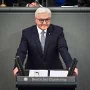 Frank-Walter Steinmeier hält erste Rede als Bundespräsident (Foto)