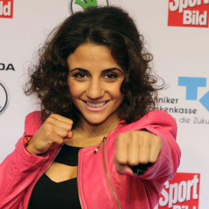 Profiboxerin Susi Kentikian ist mehrfache Weltmeisterin im Fliegengewicht.