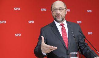 Nach der SPD-Schlappe im Saarland sieht die CDU Martin Schulz angekratzt. (Foto)