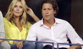 Model-Mama Heidi Klum mit ihrem Verlobten Vito Schnabel. (Foto)