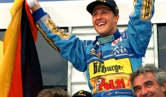 Die Schumi-Familie erinnert an Michael Schumachers Sieg vor 23 Jahren. (Foto)