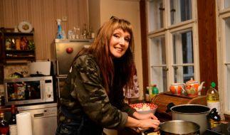 Hanka Rackwitz lud zum Promi Dinner. (Foto)