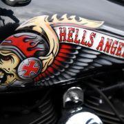 Zuschauer feiern Hells-Angels-Boss (Foto)