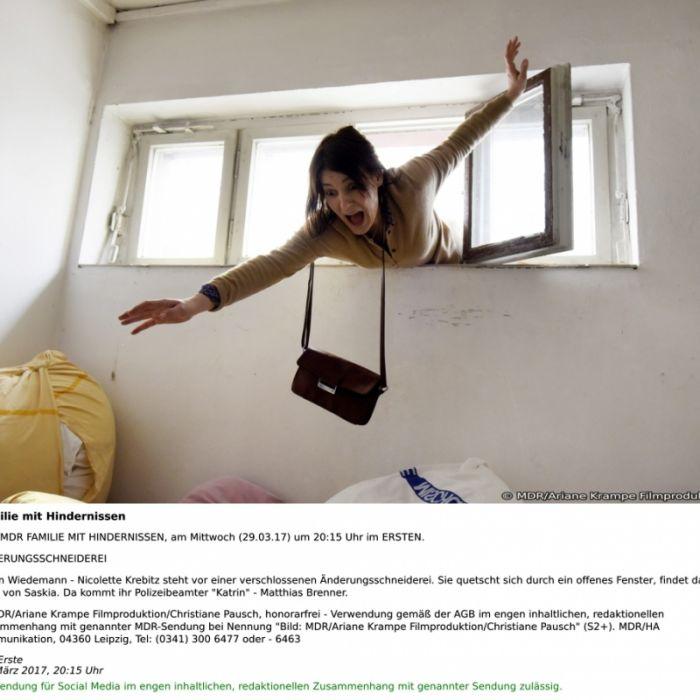 Nicolette Krebitz will es allen Recht machen - geht das gut? (Foto)