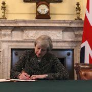 Startschuss für britischen EU-Austritt gefallen (Foto)