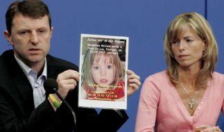 Kate und Gerry McCann haben die Suche nach ihrer Tochter Maddie noch nicht aufgegeben. (Foto)