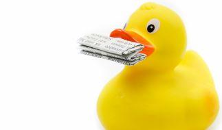 Am 1. April sind wieder viele Zeitungsenten unterwegs. (Foto)
