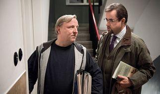 """Im Münsteraner """"Tatort"""" wartet ein neuer Fall auf das ungleiche Duo Thiel (l.) und Boerne. (Foto)"""