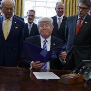 So reich ist die Trump-Regierung (Foto)