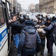 Stürzt die Opposition Präsident Putin? (Foto)