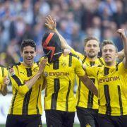 Borussia Dortmund schlägt Hamburg mühelos (Foto)