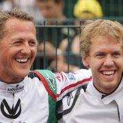 Mit dieser Geste ehrt Sebastian Vettel jetzt Schumi (Foto)
