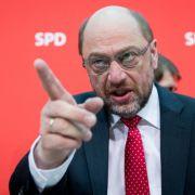 Kann schon mal angriffslustig: Martin Schulz, SPD-Spitzenkandidat für die Bundestagswahl, will Angela Merkel aus dem Kanzleramt jagen.