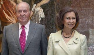Ex-König Juan Carlos wird eine Affäre nachgesagt. (Foto)