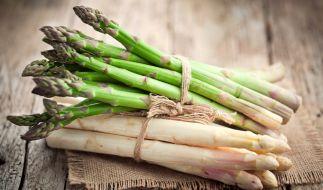 Spargel gilt als König der Gemüsesorten. (Foto)