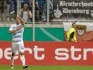 Der MSV Duisburg geht als Tabellenführer in den 32. Spieltag. (Foto)