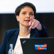 So will Frauke Petry die AfD jetzt komplett umkrempeln (Foto)