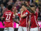 FC Bayern München hatte am Samstagabend (8. April 2017) die Nase vorn gegen Borussia Dortmund. (Foto)