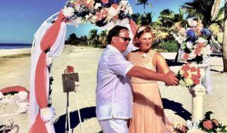 Petra und Andreas Lehmann wollen nach 25 Jahren zum zweiten Mal heiraten. (Foto)