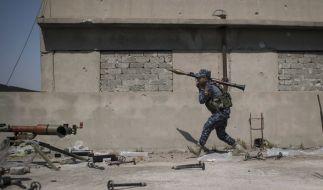 Mehr als 200 Deutsche kämpfen gegen den IS. (Foto)