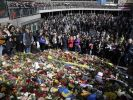 Gedenken der Terror-Opfer in Stockholm. (Foto)