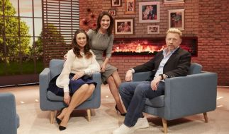 Désirée Nosbusch mit Boris und Lilly Becker (l.) (Foto)