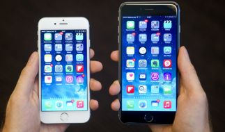Am 12.04.2017 gibt es das iPhone 6 Plus (r.) für 479 Euro bei Aldi. (Foto)