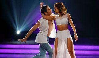 """Christian Polanc und Vanessa Mai tanzen bei """"Let's Dance"""" zusammen. (Foto)"""