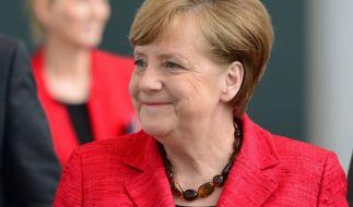 Angela Merkel hat eine Rechnung aus Freiberg bekommen. (Foto)