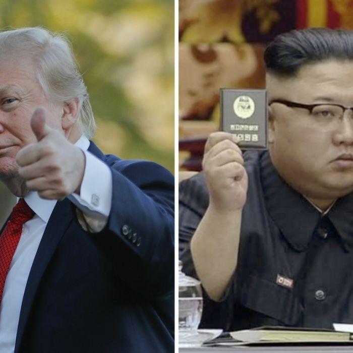 Trump droht Diktator Kim - Nordkorea verspricht Krieg! (Foto)