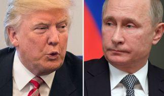 Das Verhältnis zwischen Trump und Putin ist seit dem US-Angriff auf einen syrischen Luftwaffenstützpunkt äußerst angespannt. (Foto)
