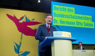 Der FDP-Finanzexperte Herrmann Otto Solms warnt vor einer Kanzlerkandidatur von Martin Schulz. (Foto)