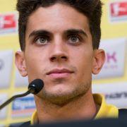 BVBs Abwehrspieler Marc Bartra wurde durch umher fliegende Teilchen verletzt und musste am Unterarm operiert werden. Auch ein Polizist wurde bei dem Anschlag verletzt.