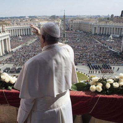 "Papst Franziskus erteilt den Ostersegen ""Urbi et Orbi"" im Vatikan (Foto)"