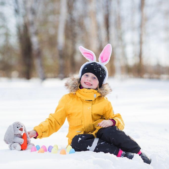 Schnee an Ostern? Hier fällt die Eiersuche aus (Foto)