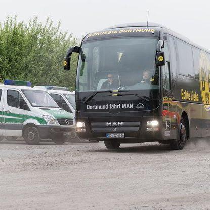 Der Sitzplan im Bomben-Bus von Borussia Dortmund (Foto)
