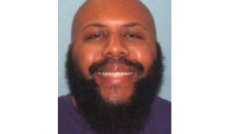 DieUS-amerikanische Polizei suchtMann nach Live-Mord auf Facebook. (Foto)