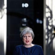 Britische Premierministerin May ruft Neuwahl aus (Foto)
