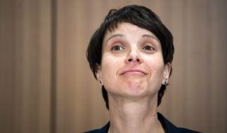 Frauke Petry will ARD und ZDF abschaffen. (Foto)