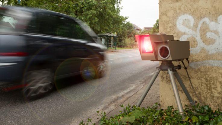 Am 19.04.2017 lauern deutschlandweit unzählige Blitzer auf Verkehrssünder. (Foto)
